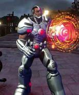 Cyborg prime Infinite Crisis