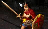 Greek Goddess of War Wonder Woman Gameplay Skin