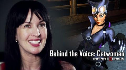 Behind the Voice Grey Delisle-Griffin as Catwoman