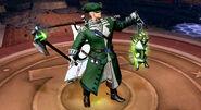Emerald Patriot Arcane Green Lantern Gameplay Skin