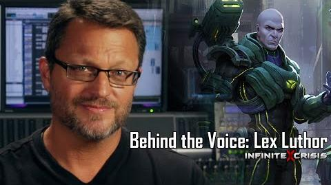 Behind the Voice Steve Blum as Lex Luthor