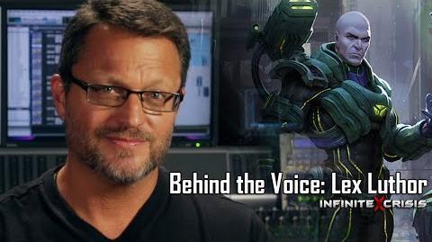 Behind the Voice Steve Blum as Lex Luthor