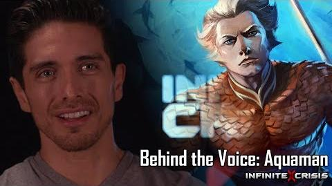 Behind the Voice Aquaman