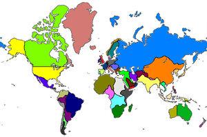 World map Unison