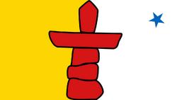 Flag Nunavut
