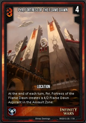 CORE- Pyr, Fortress Of The Flame Dawn