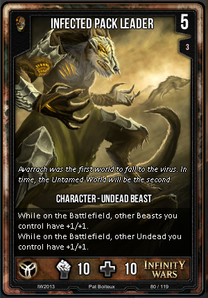 CORE- Infected Pack Leader