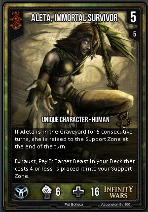 ASCENSION- Aleta, Immortal Survivor