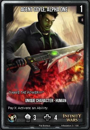 INFESTATION- Agent Coyle, Alpha One