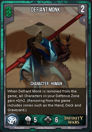 REBELLION Defiant Monk