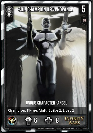 ASCENSION- Sol, Champion Of Vengeance