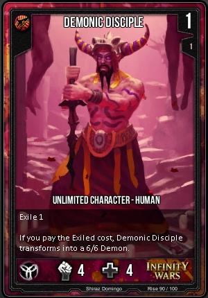 RISE- Demonic Disciple