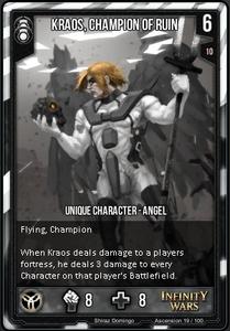 Kraos, Champion of Ruin