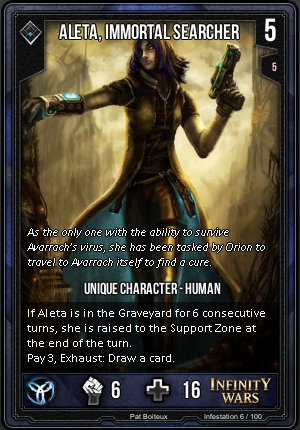 INFESTATION- Aleta, Immortal Searcher