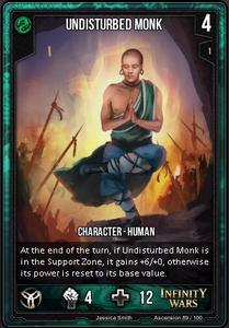 Undisturbed Monk
