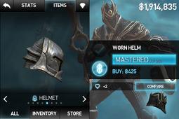Worn Helm
