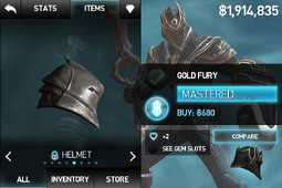 Gold Fury