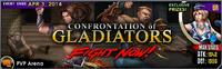 Confrontation of Gladiators