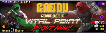 Gorou banner
