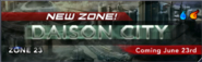 Daison city banner