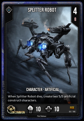 RISE SPLITTER ROBOT