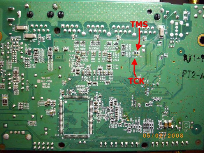 8-SNB6500 Dettaglio 2 JTAG