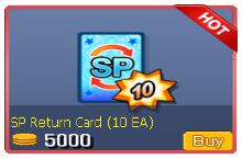 SP Return Card