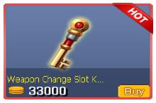 Weapon Change Slot Key