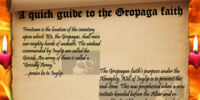 A Compiled History of the Gropaga Faith