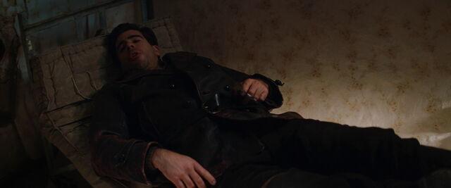 File:Donny sits on a matress holding a knuckle knife.jpg