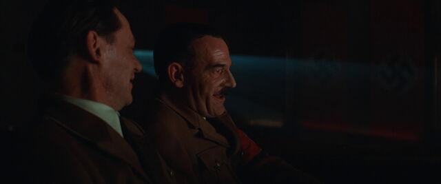 File:Hitler and Goebbels look at the film.jpg