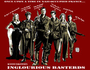 Inglourious Basterds red drawing