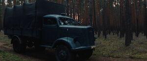 Landa's truck