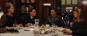 Francesca, Goebbels, Zoller and Shosanna