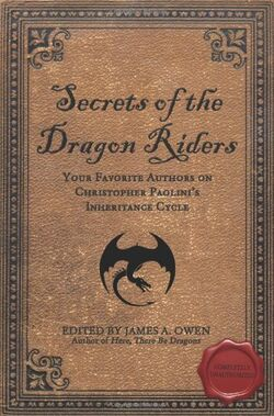 Secrets of the Dragon Riders cover