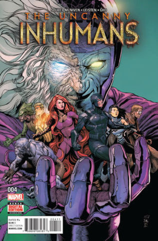 Uncanny Inhumans Vol 1 4