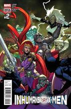 Inhumans vs. X-Men Vol 1 2