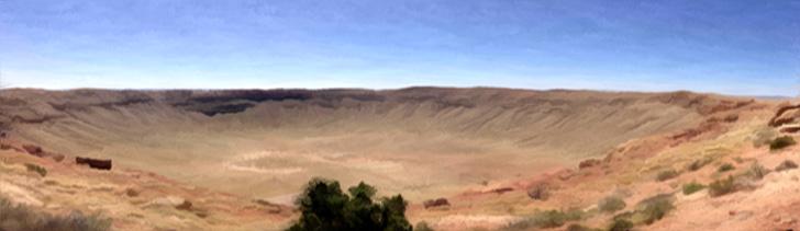 Initium Meteor Impact Site