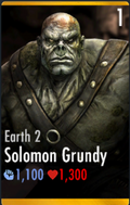 Solomon Grundy Earth 2