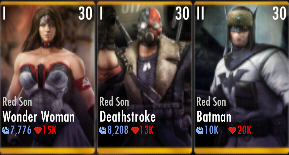 Superman Godfall nightmare challenge battle 3 match 3
