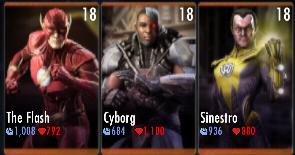 Superman Godfall standard challenge battle 2 match 8