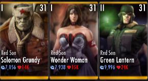 Superman Godfall nightmare challenge battle 3 match 6