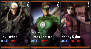 Superman Godfall standard challenge battle 1 match 6