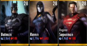 Superman Godfall standard challenge battle 5 match 7