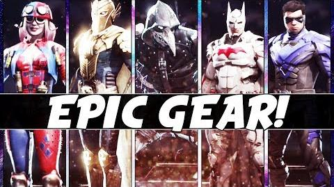 Injustice 2 - LEVEL 20 EPIC Loadouts For ALL 29 Characters!