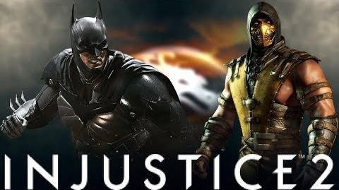 Every Injustice 2 Super Move Edited As A Mortal Kombat X-Ray!