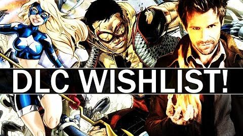 Injustice 2 - All 6 Remaining DLC Character Wishlist!
