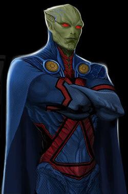 Martian Manhunter (Legends Collide)