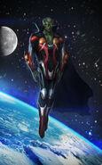Martian manhunter redesign by t biddy-d5a8fek