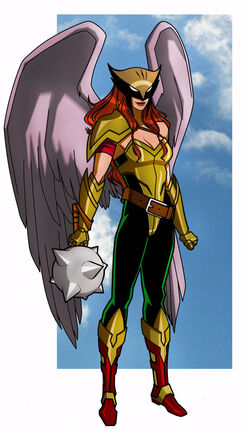 Hawkgirl (Legends Collide)